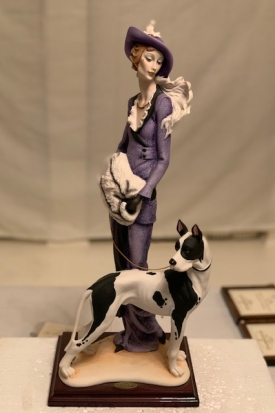 "Giuseppe Armani ""Lady with Great Dane"""